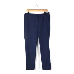 Zara M pants blue trousers slim straight career